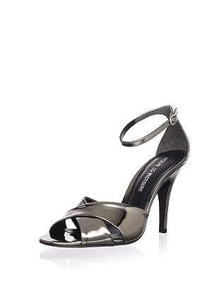 Pour La Victoire Women's Kalinda Sandal (Pewter)