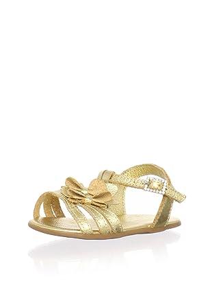Pampili Kid's Metallic Strappy Sandal (Gold)