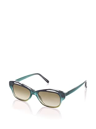 MARNI Women's MA108S Sunglasses, Shaded/Blue