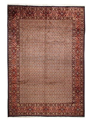 One of a Kind Antique Mud Tribal Rug (Multi)