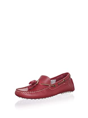 W.A.G. Kid's Tasseled Moccasin (Red)
