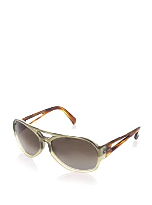 MARNI Women's MA030 Sunglasses (Green/Light Grey)