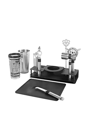 Oggi Pro Stainless Steel 10-Piece Cocktail Shaker and Bar Tool Set