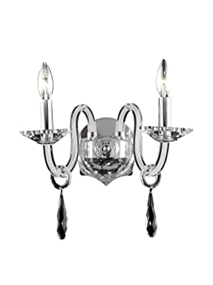 Crystal Lighting Avalon Wall Sconce (Crystal/White)
