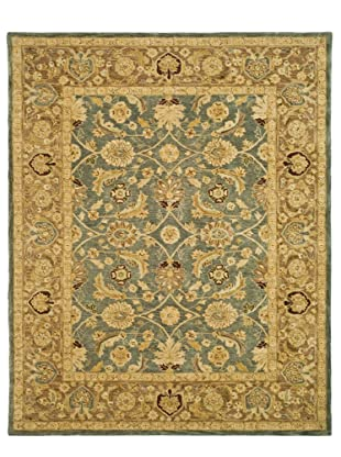 Safavieh Anatolia Collection Hand Tufted Rug (Blue/Brown)