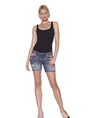 PRPS Women's Bandana Shorts (Medium)