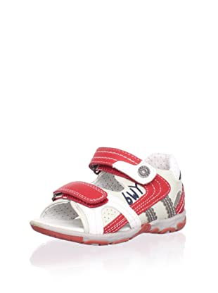 Billowy Kid's Dual Strap Sport Sandal (Red)