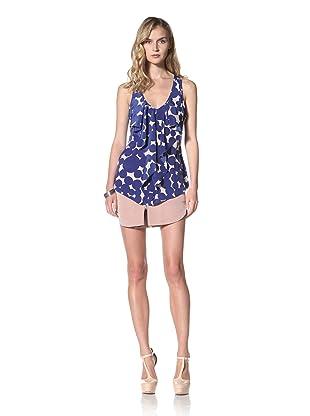 Yoana Baraschi Women's Glam Date Top (Bright Blue/Shell)