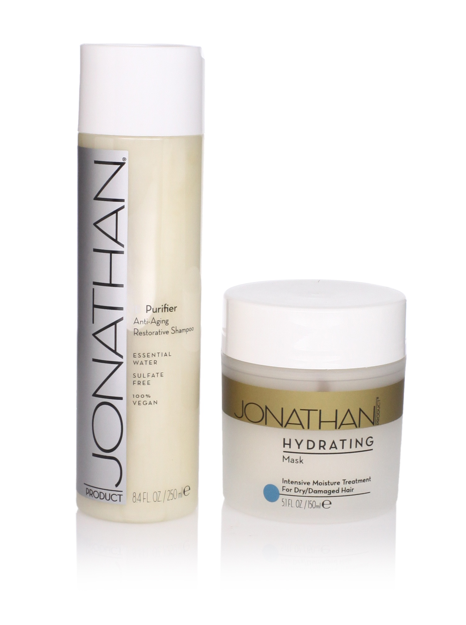 Jonathan Product Ib Purifier Shampoo and Hydrating Mask, 2 Pack