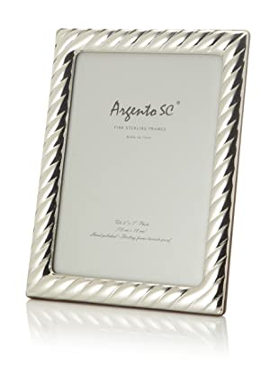 Argento SC Braid Sterling Silver Frame, 5
