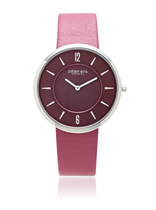 Johan Eric Women's JE5001-04-001.14 Vejle Slim Raspberry Leather Watch