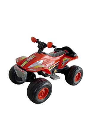 Lil' Rider Battery-Powered X-750 Exceed Speed ATV, Red