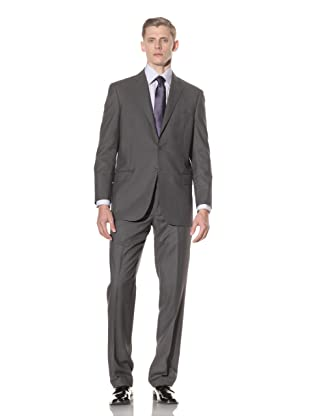 Yves Saint Laurent Men's Pinstripe Suit (Medium Grey)