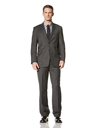 Yves Saint Laurent Men's Suit (Melange Grey)