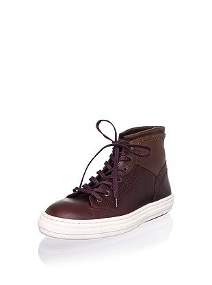 Swear Men's Olly 3 Hi Top (Oxblood Leather/Tan Leather)