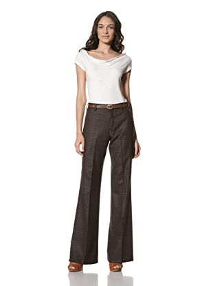 Billy Reid Women's High-Waisted Pant (Brown)