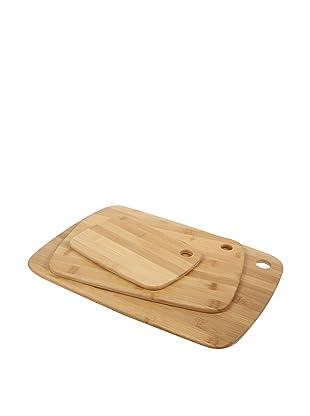 Core Bamboo Classic Cutting Board Combo Pack, Small/Medium/Large