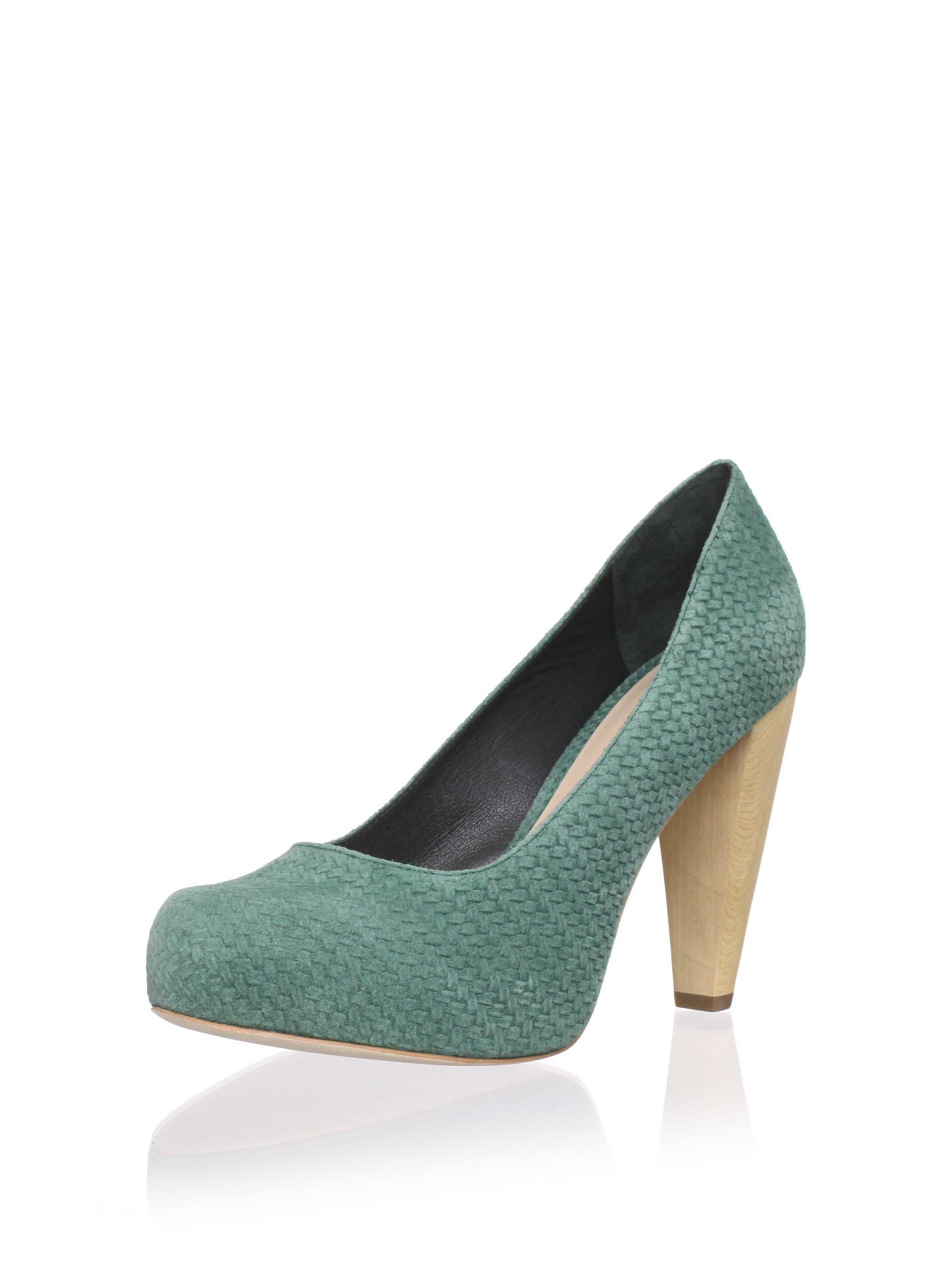 Loeffler Randall Women's Esther Hidden Platform Pump (Bottle Green)