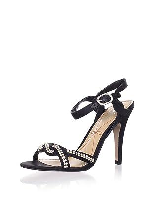 Le Soir Pour La Victoire Women's Estee Sandal (Black)