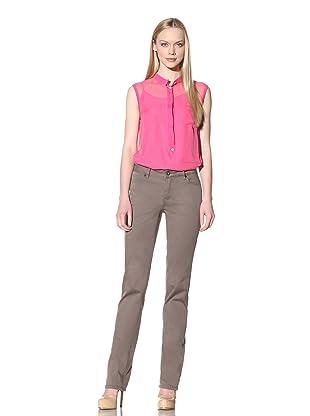 Christopher Blue Women's Joanie Straight Jean (Santa Fe)