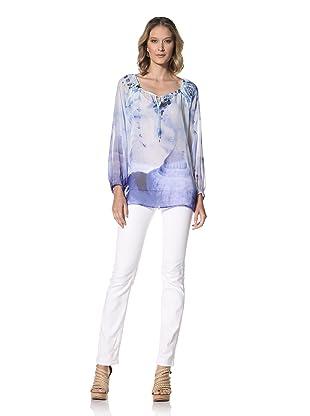 Escada Sport Women's Namrata 3/4 Sleeve Tunic Top (Multi)