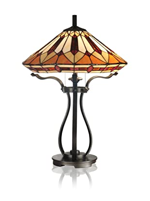 Dale Tiffany Harp Table Lamp