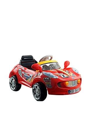 EZ Riders Battery-Powered Red Racer SuperSport Car with Remote, Crimson
