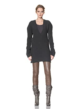 Haider Ackermann Women's Tunic Sweater (Anthracite)