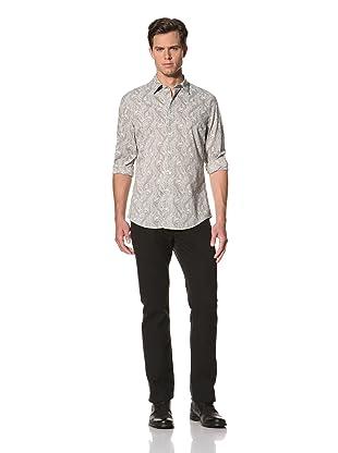 John Varvatos Collection Men's Slim Fit Shirt (Cornflower)