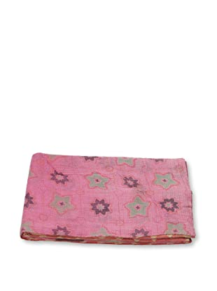 Mili Designs NYC One of a Kind Vintage Kantha Throw, #225