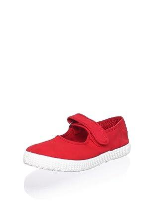 Cienta Kid's Mary Jane Sneaker (Red)