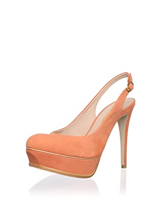 Pour La Victoire Women's Velerie Slingback Pump (Orange)
