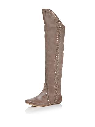 D-Segno Women's Sofia Tall Flat Boot (Maya Taupe)