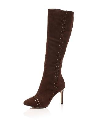Maxstudio Women's Liberia Knee-High Boot (Dark Brown)