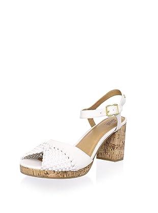 Bass Women's Amberly Sandal (White)