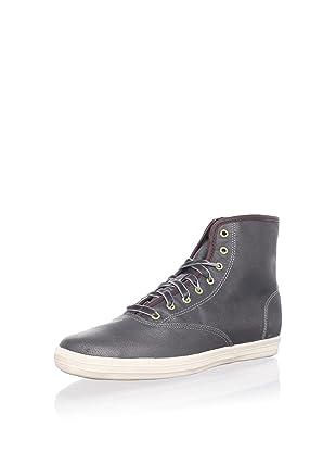 Keds Women's Oiled Canvas Hi Sneaker (Grey)