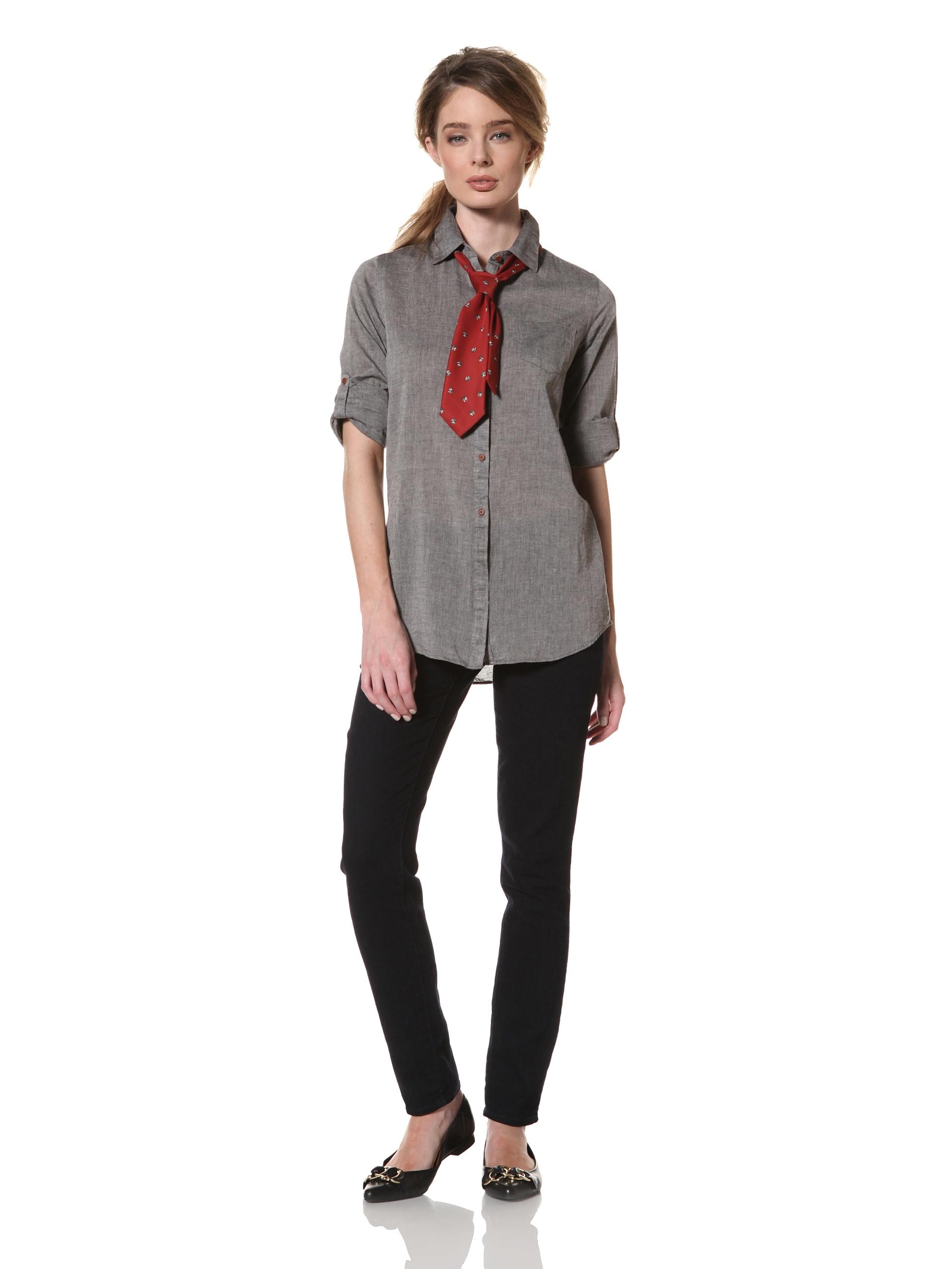 Trovata Women's Amalie Woven Shirt (Black)