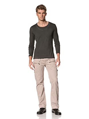 MOD Men's Long Sleeve Knit Tee (Black)