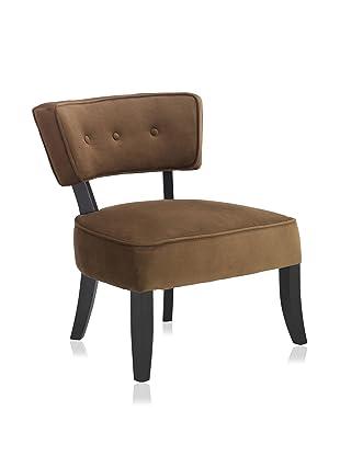 Armen Living Ashbury Club Chair, Mocha