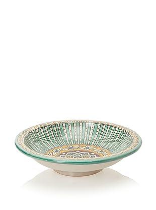 Hand-Painted Ceramic Bowl (Multi)
