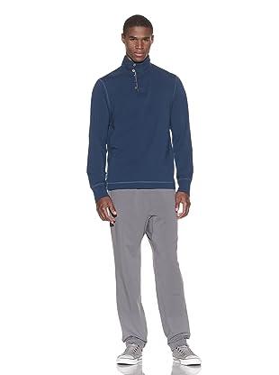 Guats Men's Pullover Henley (Navy)
