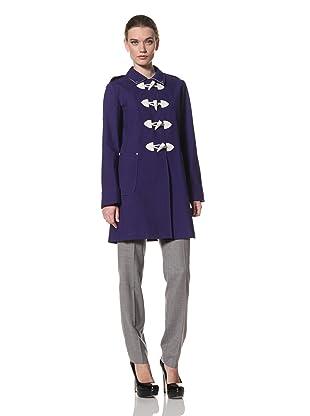 Jane Post Women's Long Duffle Coat (Brilliant Blue)