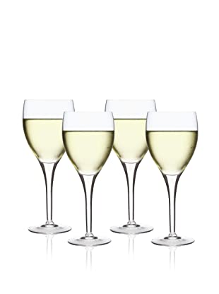 Luigi Bormioli Set of 4 Michelangelo Masterpiece Wine Glasses
