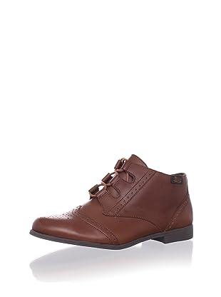 Bass Women's Neville Ankle Boot (Cognac)