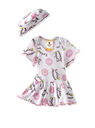 Country Baby Girl Skirted One Piece with Hat (Rodeo Princess)