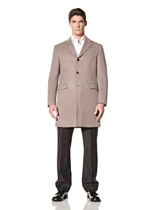 Yves Saint Laurent Men's Overcoat (Taupe)
