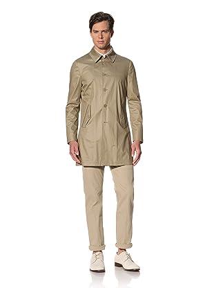 John Varvatos Collection Men's Seam Sealed Unlined Coat (Cork)