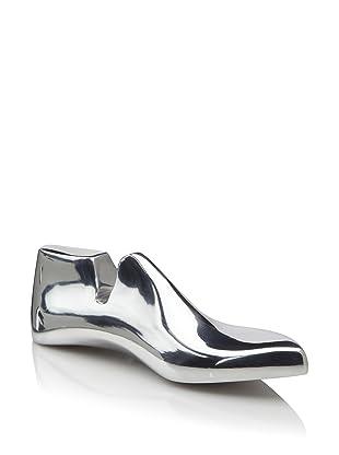 Lunares Shoe Cast Decorative Object, Silver