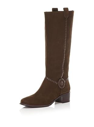 Jack Rogers Women's Stable Boot (Espresso Suede)