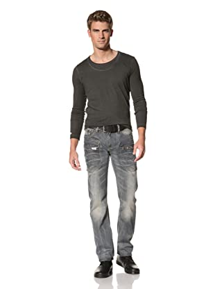 MOD Men's Yannick Straight Leg Jeans (Flint Grey)